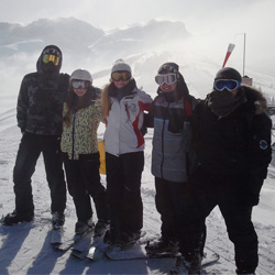 Schneesporttage in Lenk